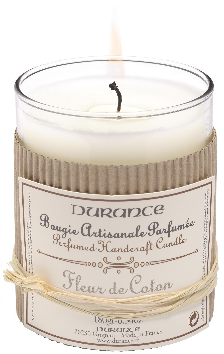 Scented Candle Cotton Flower 180gr In Scented Candles
