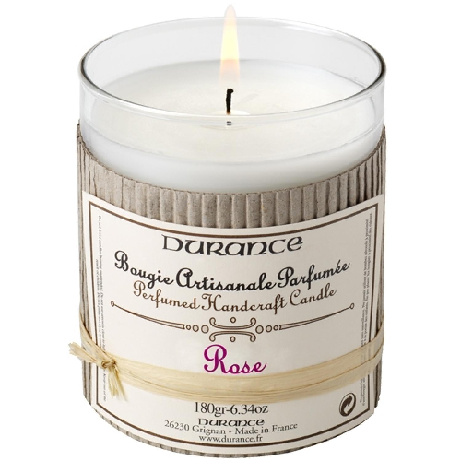 Scented Candle - Rose 180gr