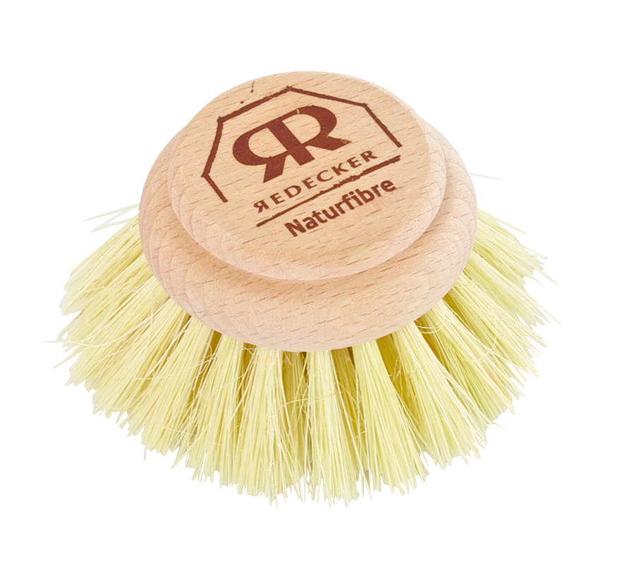 Washing up brush - Replacement Head only - Stiff tampico fibre 5cm
