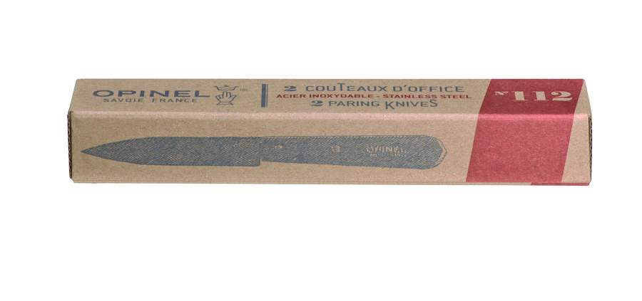 Set of 2 Paring Knives (No.112) - Beech