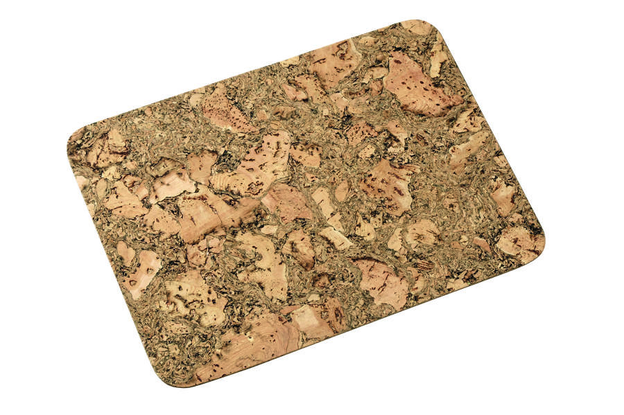 Rectangular Iceberg Cork Placemats - Set of 4