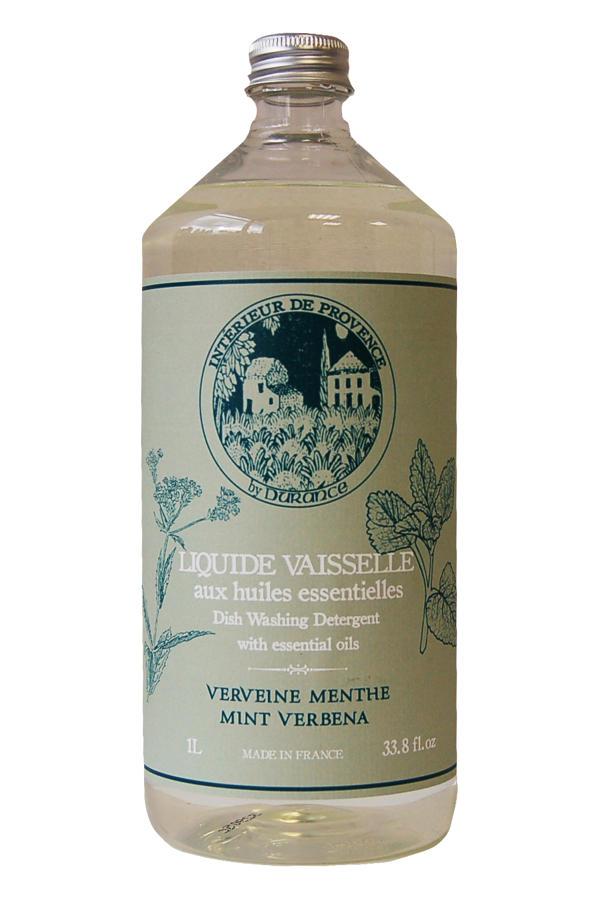 Dish washing detergent with essential oils - Mint Verbena 33.0 fl.oz