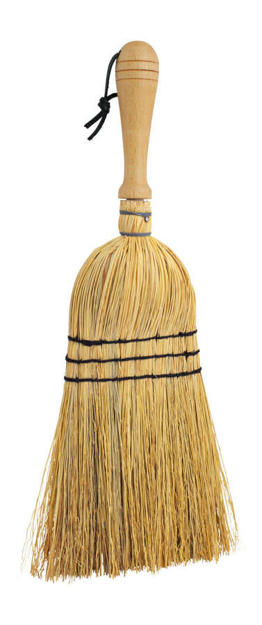 Rice Straw Brush with Wooden Handle