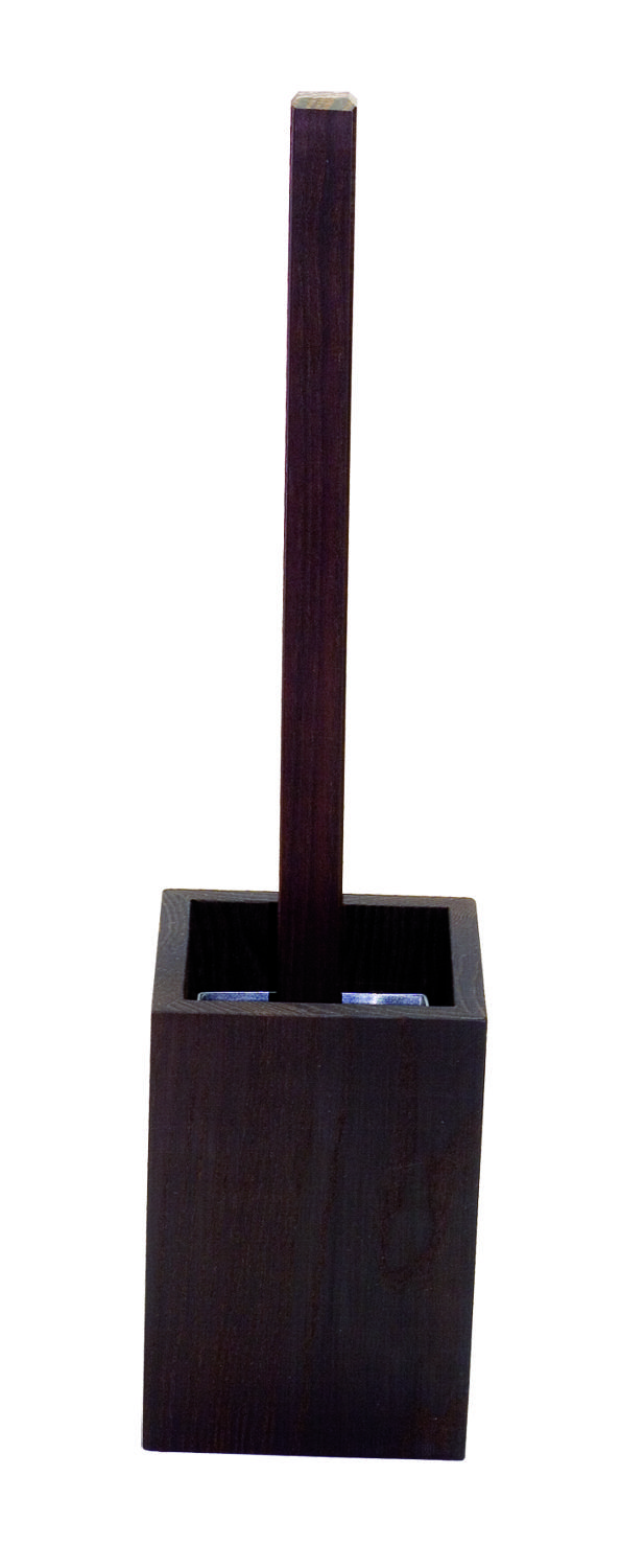 Toilet brush stand - Oiled Thermowood
