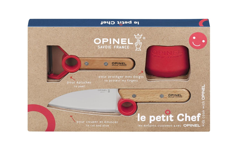 Le Petit Chef trio box set - Knife, Peeler and finger guard