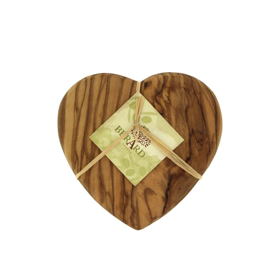 HEART Berard Olive wood Chopping Board - Small