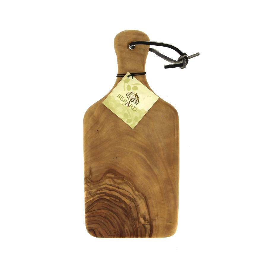 Chopping board in Olive wood with handle - Medium