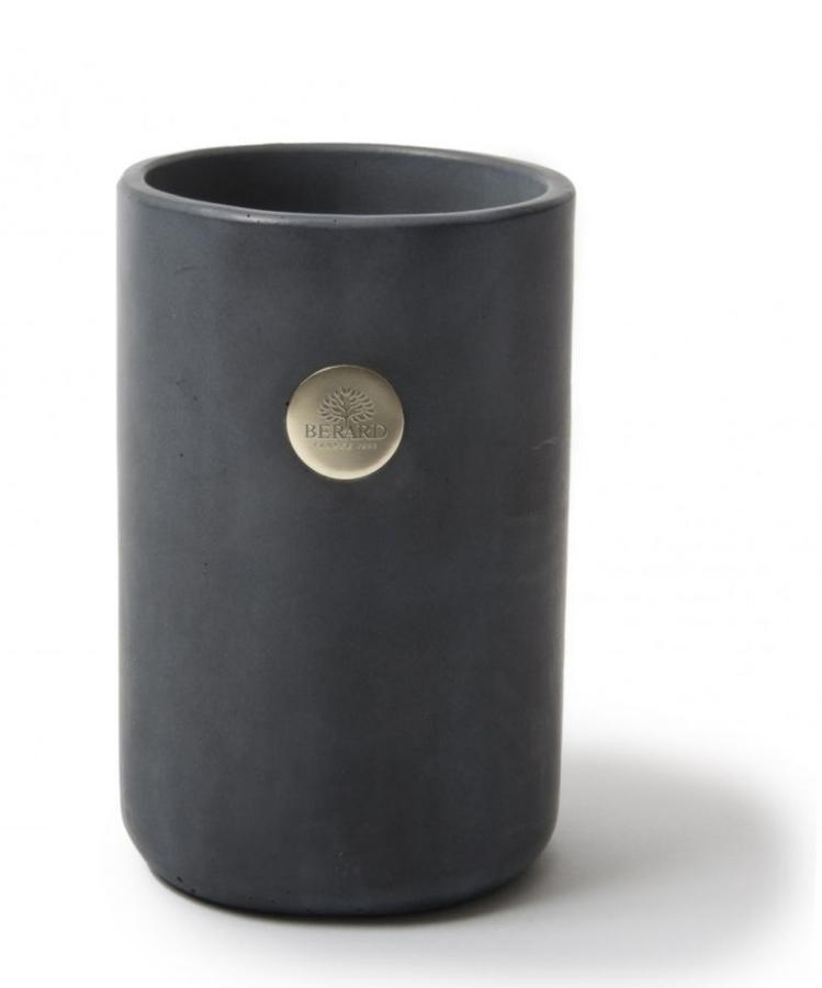 MILLENARI Utensil Pot & Wine Cooler Dark Grey Concrete