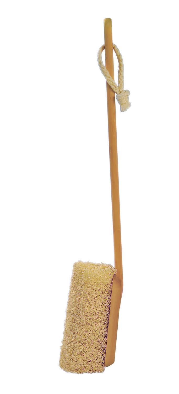Loofah on a stick