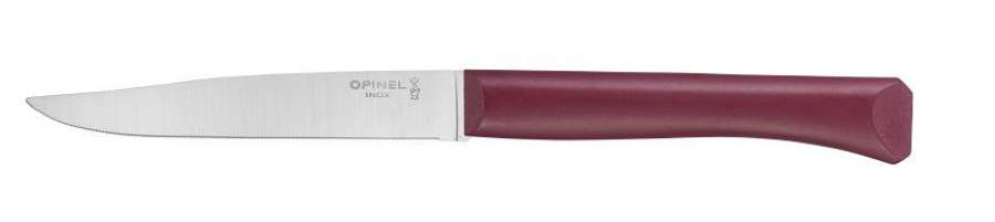 Bon Apetit - Serrated steak knife with polymer handle - Burgundy Red